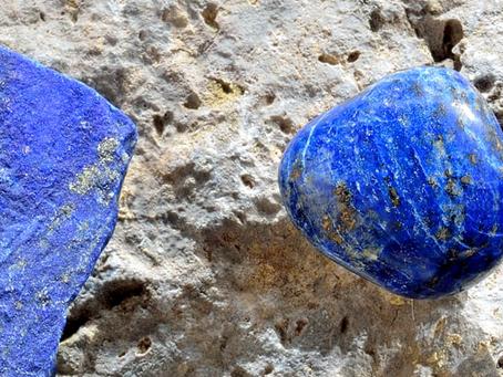 Stein des Monats Juli: Lapis Lazuli