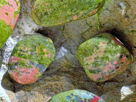 Stein des Monats Februar: Epidot