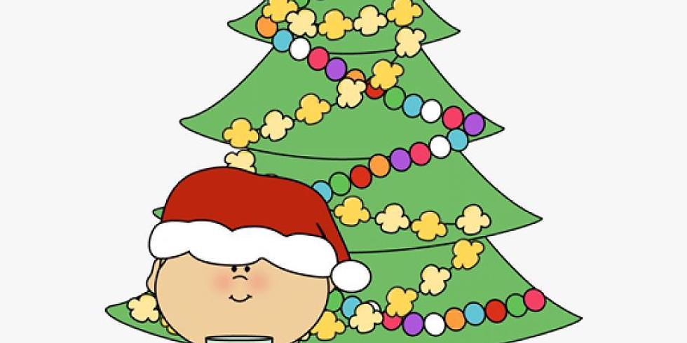 Ornaments w/ Santa Party