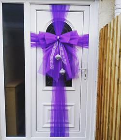 #doorbowsliverpool #doorbow #doorbows #purpledoorbow #purpleChristmas #liverpoolchristmas #christmas