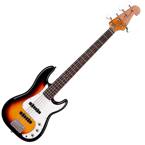 SX VTG Series 5 String Bass