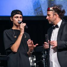 Lukas Rieger und Tom Lehel