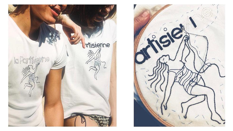La_Partisienne-T-shirt-Eponyme-Brodé-ma