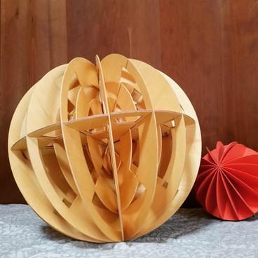 wooden object - SPHERE -