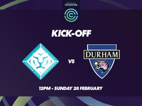 Lionesses Prepare To Take On Durham