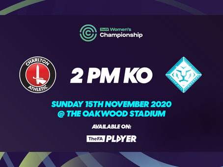 Lionesses Face London Rivals Charlton in Women's Football Weekend Derby
