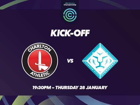 Fixture Update: Lionesses to play Charlton on 28th January