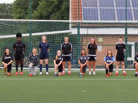 First Training Session Held At The London City Lionesses Shenfield Girls Football Academy