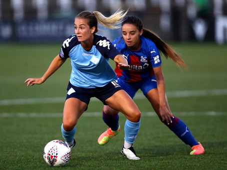 London City share the points 1:1 with Crystal Palace at Hayes Lane