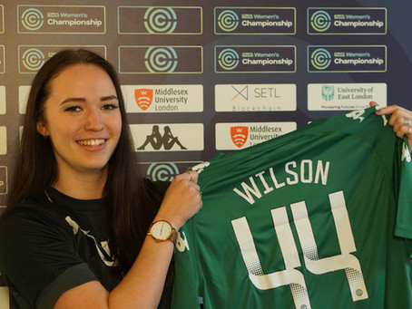 Goalkeeper Nina Wilson signs for London CityLionesses