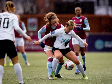 Lionesses edged out in thriller at Villa
