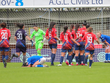Blackburn Rovers Ladies FC 1-2 London City Lionesses: Winning service resumes in spectacular fashion