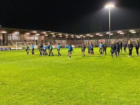 London City Lionesses 0-1 West Ham United Women: Valiant City defeated under the lights