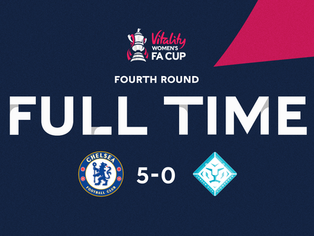 Brave Lionesses fall to Chelsea in the Vitality Women's FA Cup