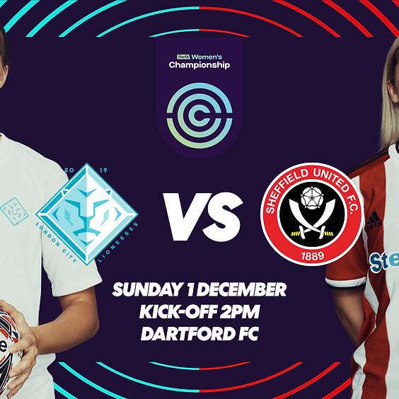 LCL VS Sheffield United WFC