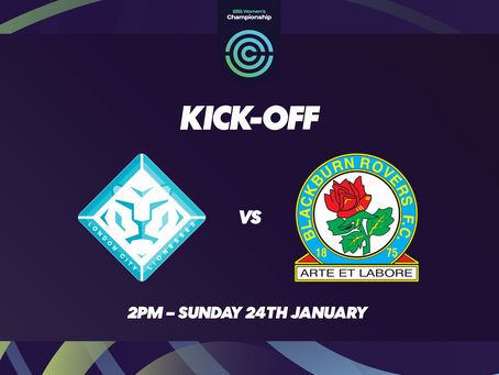 London City Lionesses Targeting 3 Point From Blackburn Clash