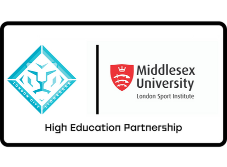 London City Lionesses Announce Partnership with Middlesex University's London Sport Institute