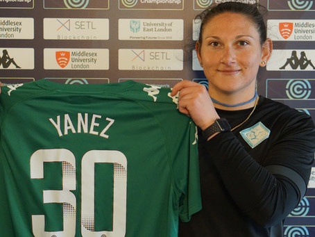Shae Yanez re-signs with London City Lionesses for next season