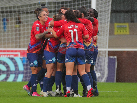 London City Lionesses prepare to take on Watford FC Women at Princes Park