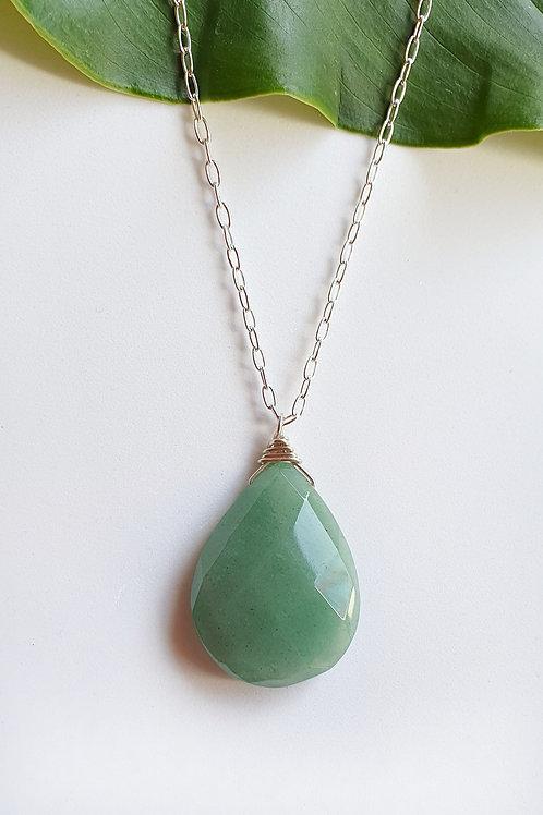 Averturine Heart Healer Necklace