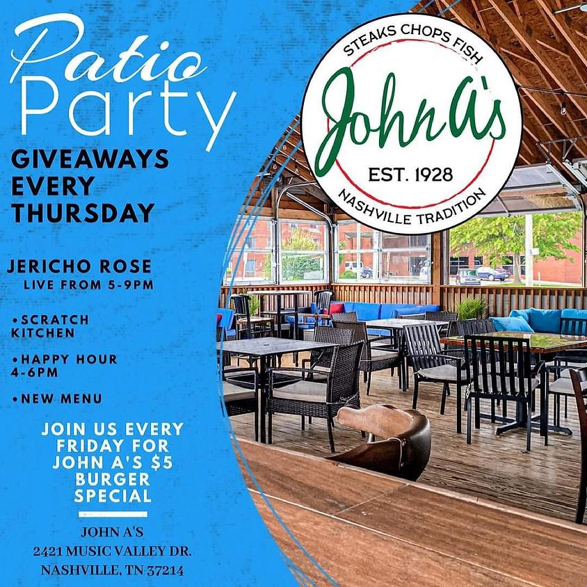 Buffalo Trace Patio Party