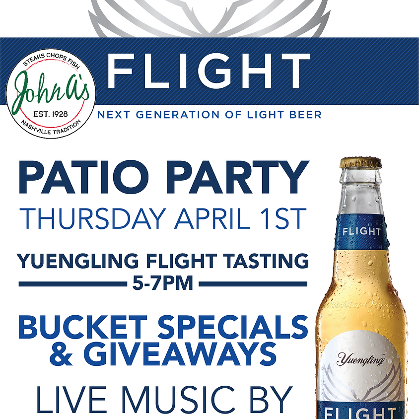 Yuengling Patio Party