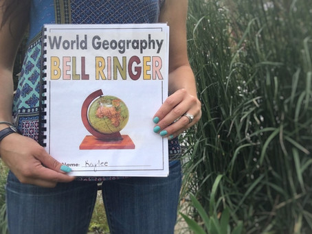 World Geography Bell Ringer