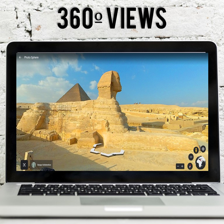 Take your students on a virtual field trip to the Pyramids! Students learn about and explore the Great Sphinx and the Great Pyramids