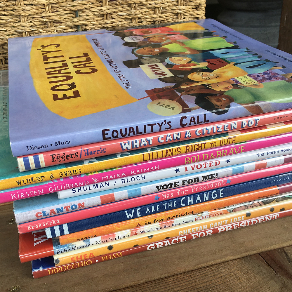 picture books for teaching voting and elections