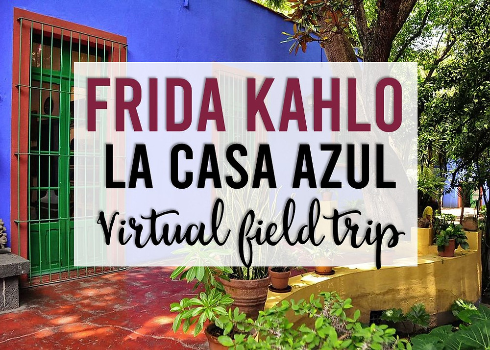A tech infused lesson for big kids about Frida Kahlo