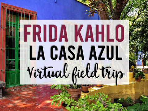 Frida Kahlo: A Tech Infused Lesson for Big Kids