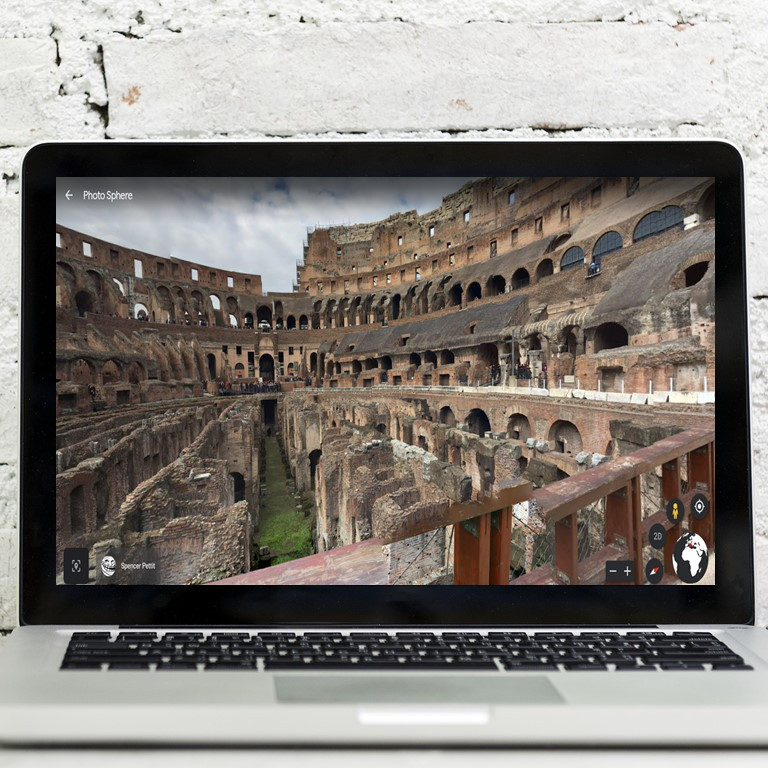 A virtual tour of the Roman Colosseum. This is a digital activity for middle school students.