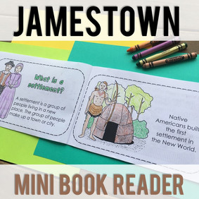 Jamestown Mini Book Reader