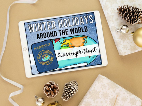 A Fun Winter Holidays Around the World for Google Slides