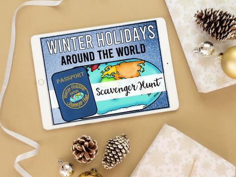 A Digital Winter Holidays Around the World for Big Kids