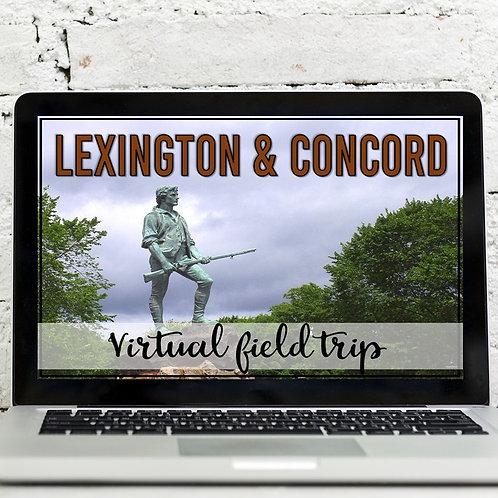 Lexington and Concord Virtual Field Trip (Google Earth Exploration)