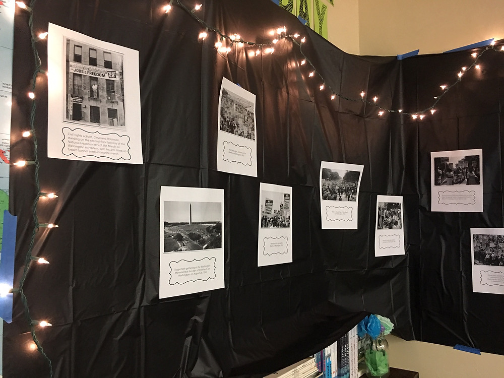 How to set up a gallery walk in your classroom