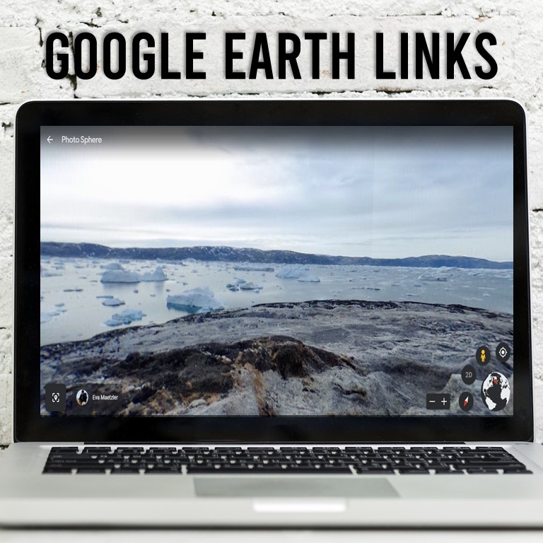 Earth Day and Climate Change in the Arctic. A Digital Activity for Google Classroom with Links