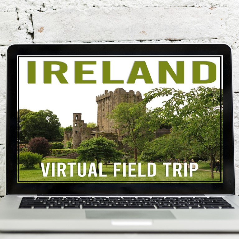 An Ireland virtual field trip for students this St. Patrick's Day