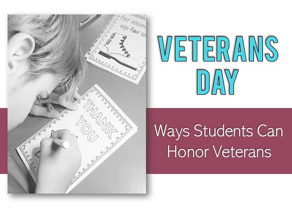 Ways to Honor Veterans on Veterans Day