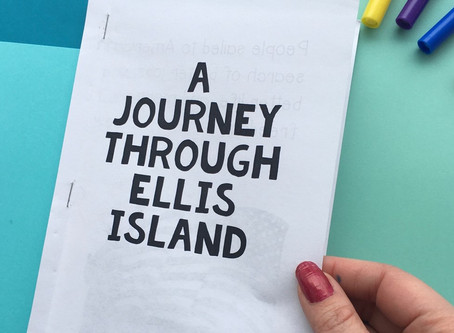 Ellis Island Mini Book With Historical Photos