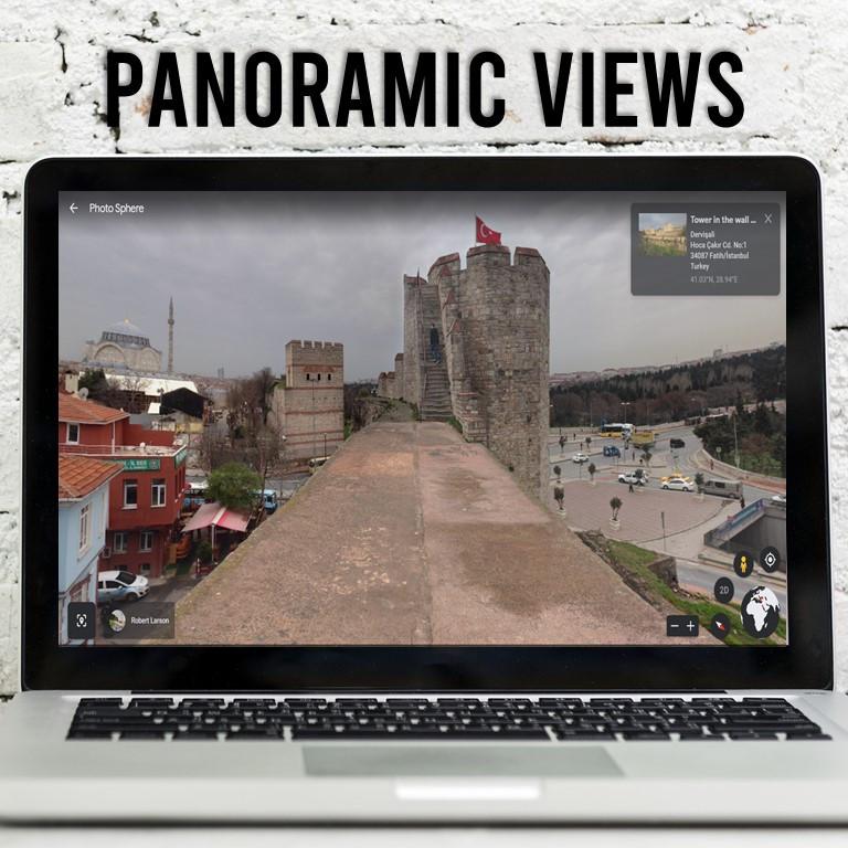 Using Google Earth to teach the Byzantine Empire