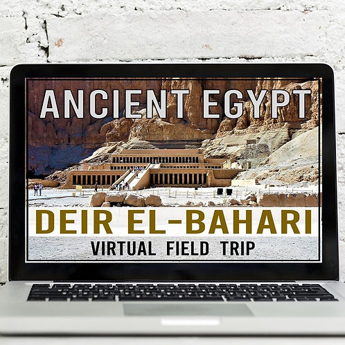 Ancient Egypt: Hatshepsut's Mortuary Temple Virtual Field Trip
