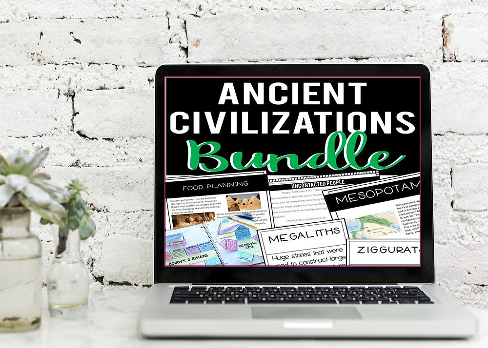 Ancient Civilizations Resources and Lessons for Remote Learning