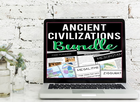 Ancient Civilizations Resources for Blended Learning