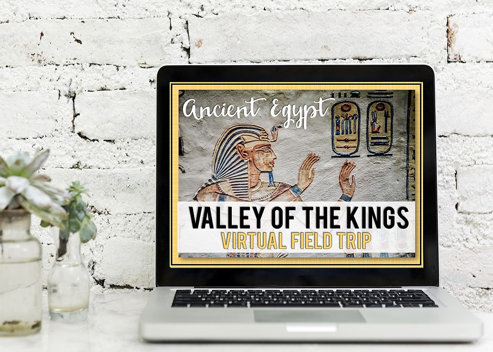 Free engaging and fun virtual field trip for teaching ancient history in 5th grade, 6th grade, or middle shcool.