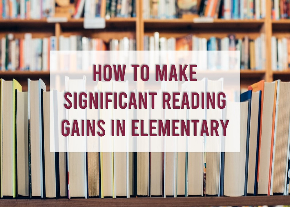 How to make significant gains in reading. A new study finds that social studies is the only subject that leads to reading improvement.