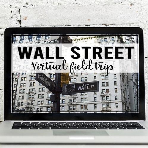 Stock Market: Wall Street Virtual Field Trip