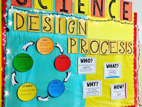 Science Engineering and Design Process Bulletin Board