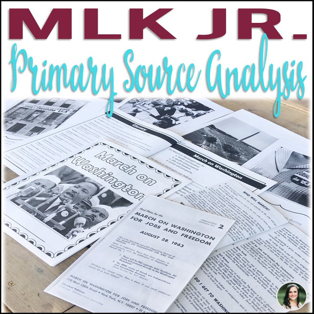 Martin Luther King Jr. Primary Source Analysis